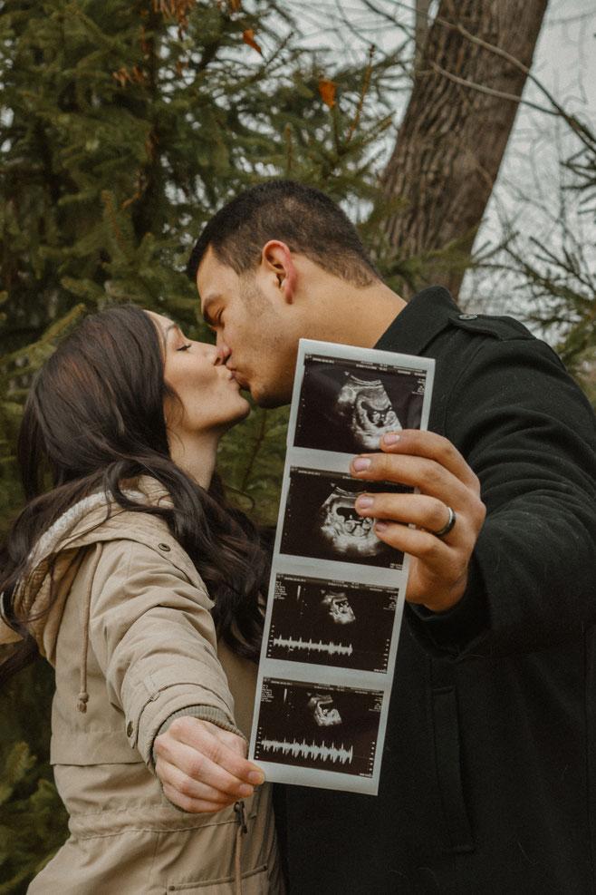 kurz zusammen und schon schwanger