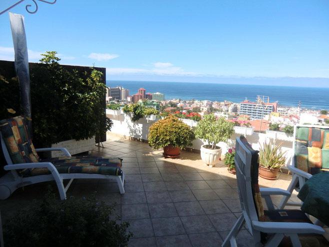 Terrasse mit Meerblilck