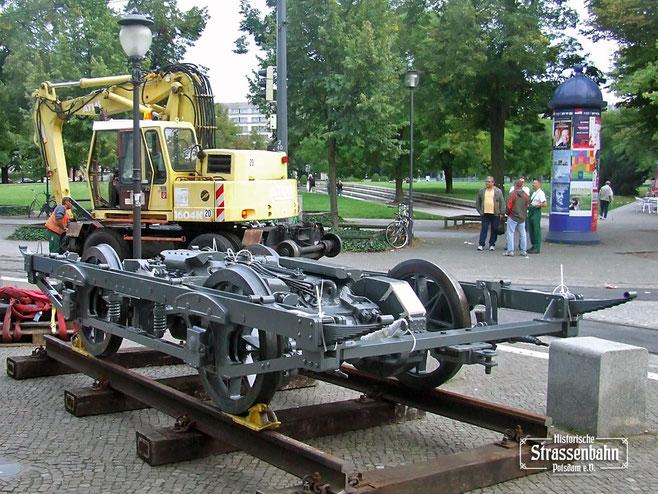 Das fertige Fahrgestell bei der Präsentation im Jahre 2007 | Foto: R. Leichsenring