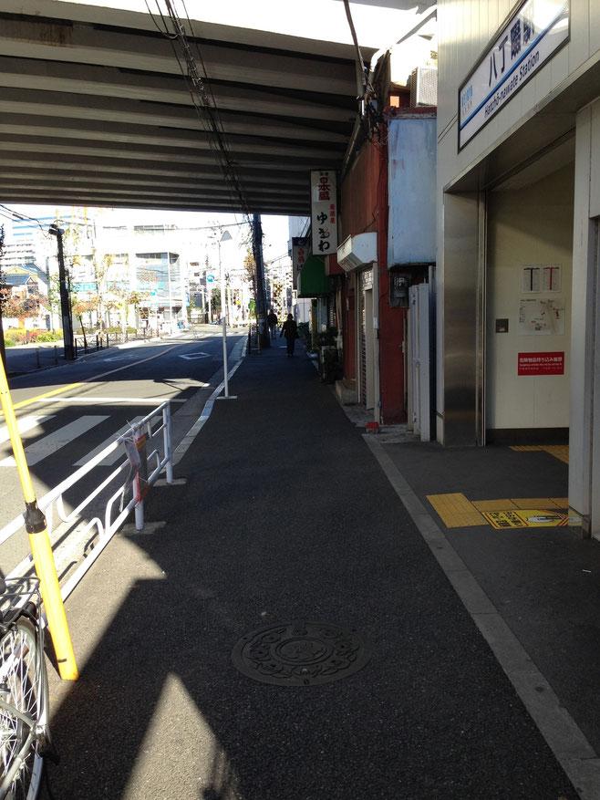 八丁畷駅から神奈川川崎渥美ボクシングジムまでの道順