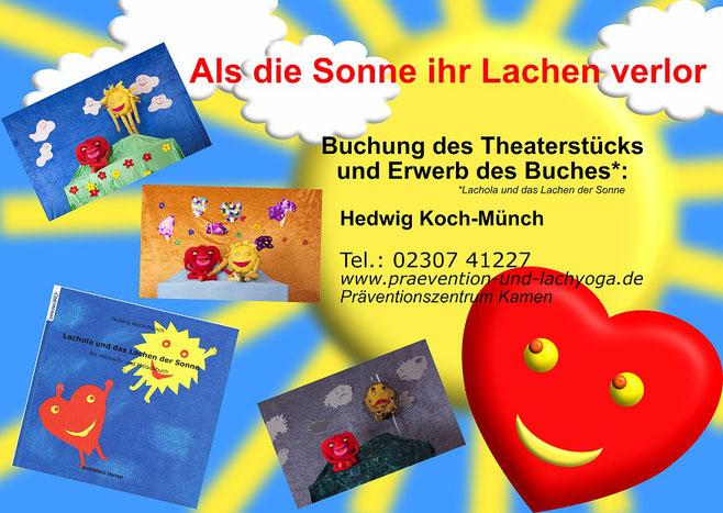 Lachola, Lachola und das Lachen der Sonne, Präventionszentrum Kamen, Lachyoga