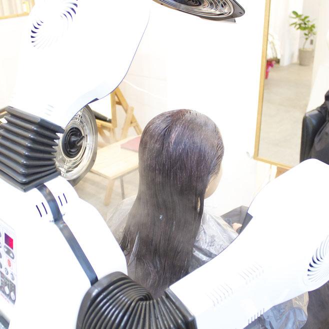 渋谷 表参道 美容室 ヘアサロン JINA hair atelier ジーナ ヘアアトリエ 三井健司 トリートメントマシン