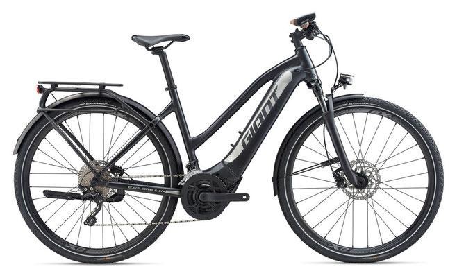 Giant Explore E+1 Pro Trekking E-Bike mit Ride Control Evo Funktion / Navi