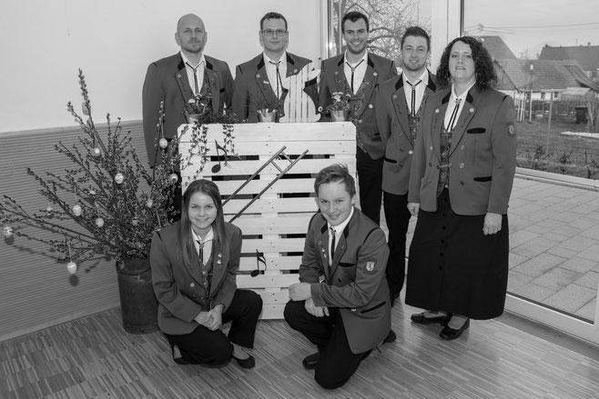 Hannes Braun, Mara Kienzler, Fabian Steidle, Alexandra Volk-Janke, Markus Braun, Johannes Blessing