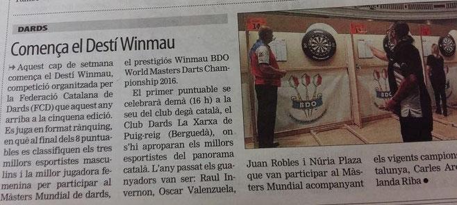 El Mundo Deportivo se hace eco del  Destì Wimmau 2016.