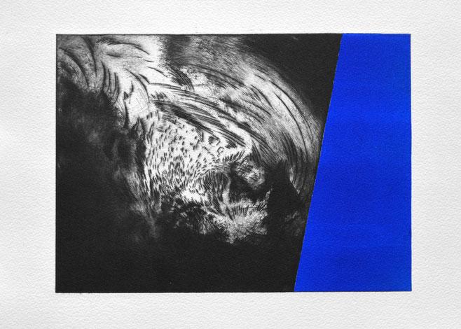 Bote • 2021 • engraving print on paper • 19,5 x 26,5 cm