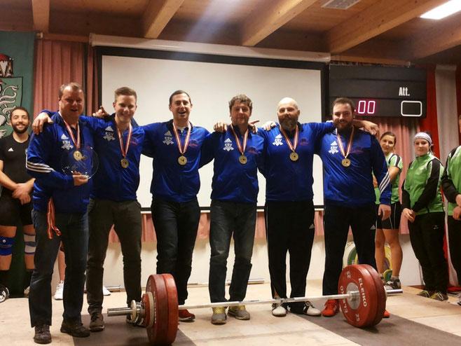 Platz 3 für KSV-Rum (Trainer Uran Werner/Hölbling Matthias/Schneider Martin/Uran Hermann/Giacomuzzi Markus/Schweninger Thomas)