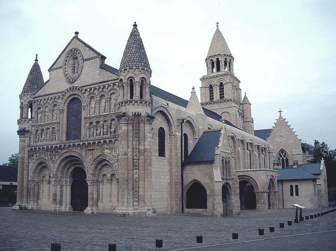 Notre-Dame la Grande. Fuente: desconocida.