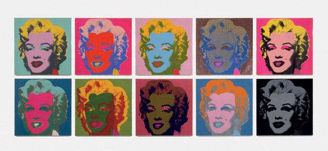 """""""El díptico de Marilyn"""""""