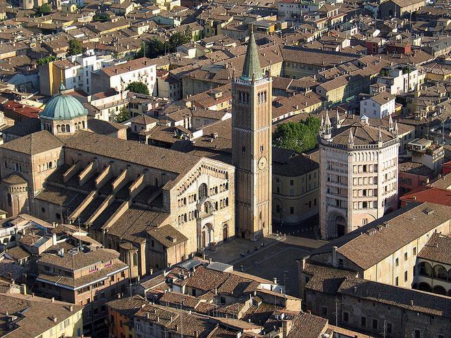 Catedral de Parma. Fuente: Carlo Ferrari.