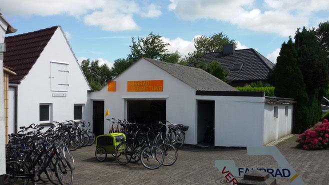 Fahrradvermietung im Nordseebad Wremen