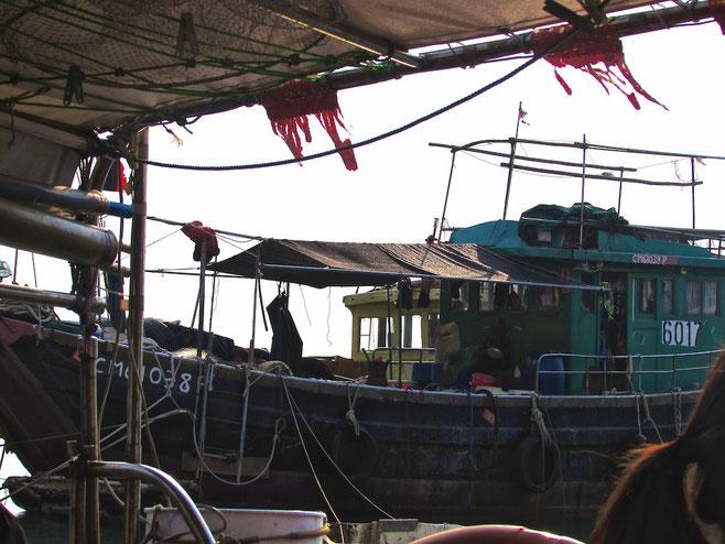 boat trip in Tai O village