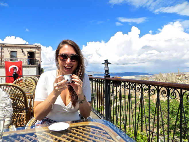 Sarah Richard Cappadocia Travel Blogger