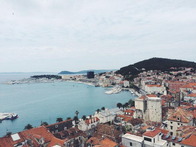 The split, Croatia