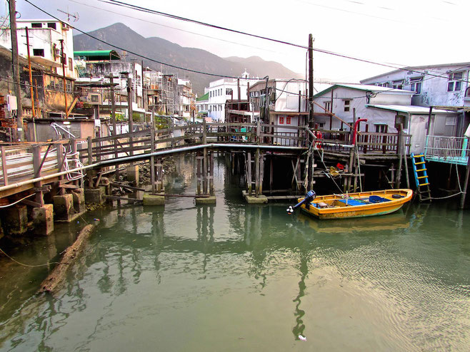 Tai O village Hong Kong