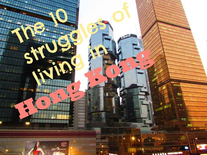 struggles of living in Hong Kong