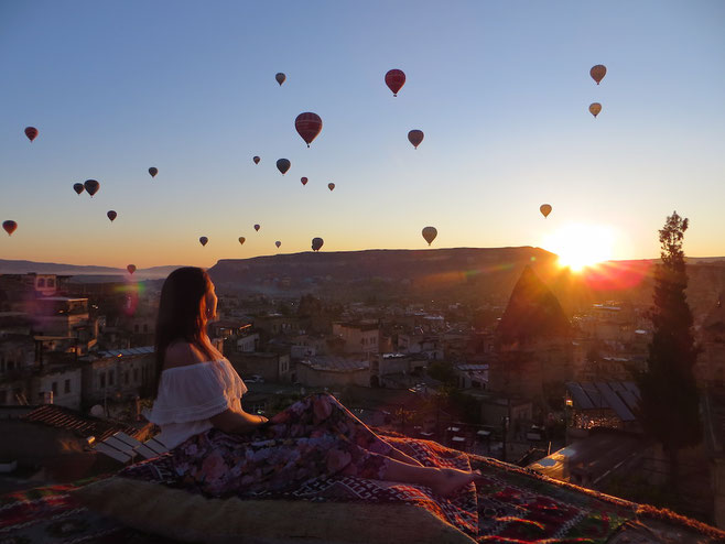 best place to watch the balloons in Cappadocia