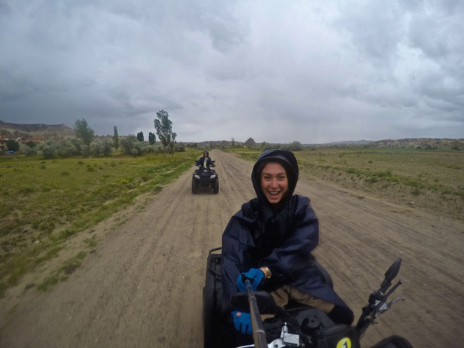 quad biking in goreme