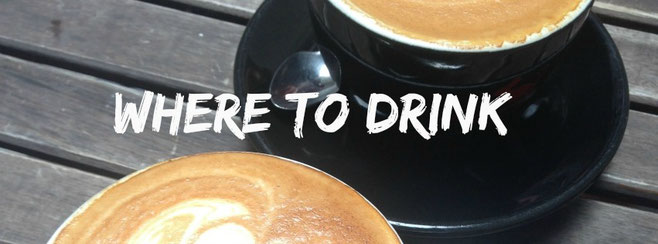 Where to drink coffee and best bars in Hong Kong
