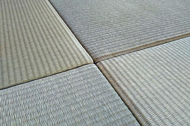 国産い草の縁なし畳