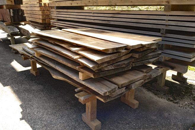 もみの木から製材した板