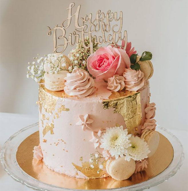 torta de cumpleaños mama