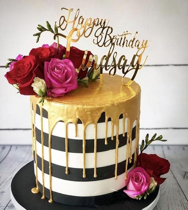 pastel cumpleaños de mujer