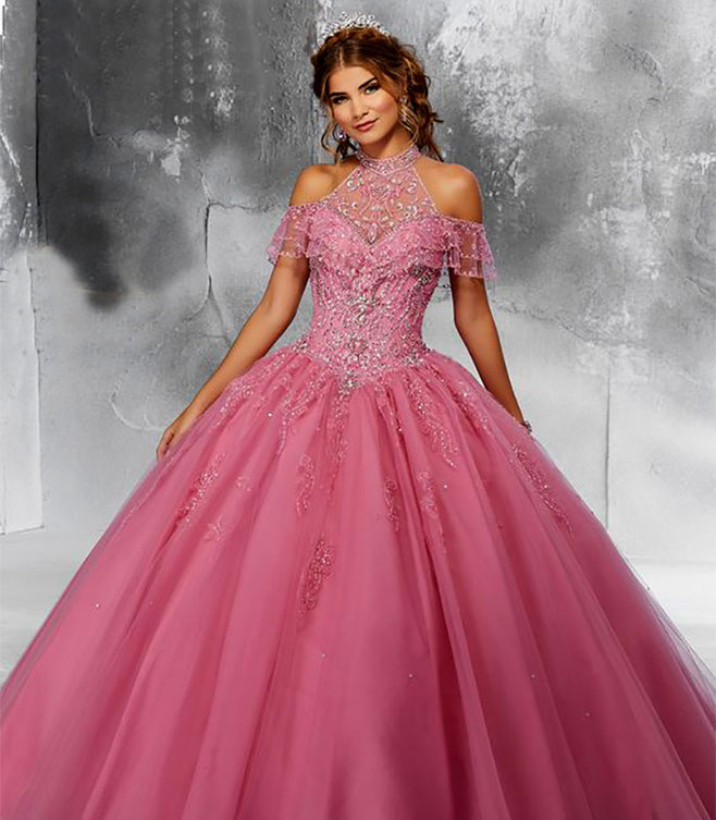 color rosa para quinceañera