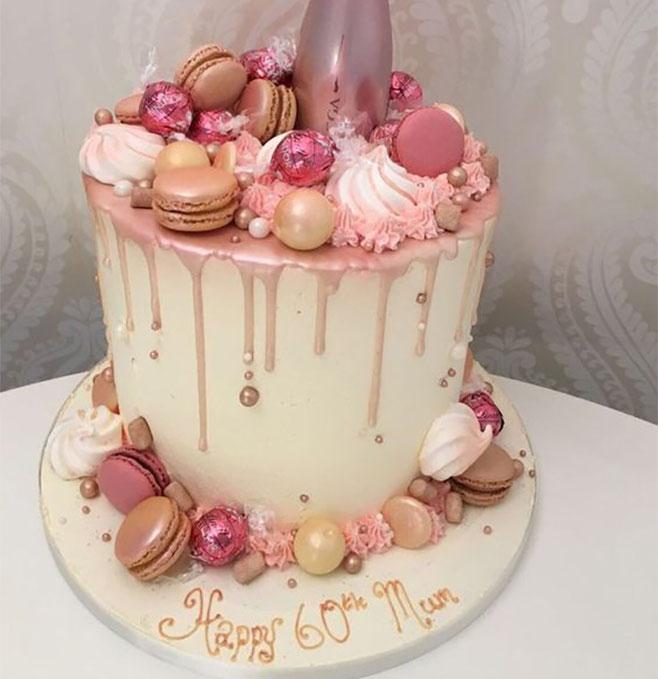 torta fiesta de mujer