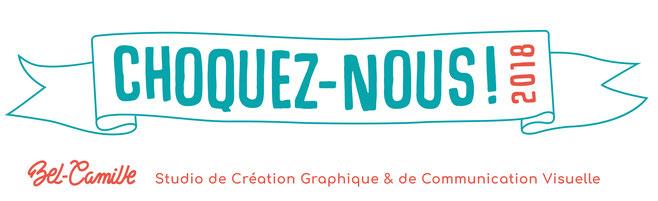 Logo du Studio Bel-Camille pour l'évènement choquez-nous 2018 à Bordeaux