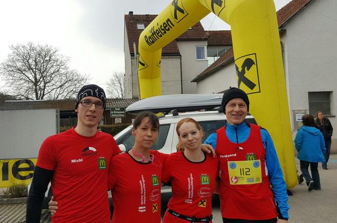 Ein tolles Team: Michi, Daniela, Sabine & Gerhard