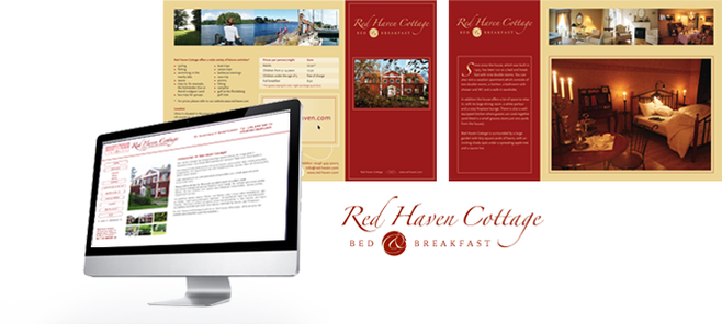 Corporate Design Red Haven Cottage