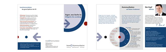 Flyer erstellen Düsseldorf brand-kommunikation