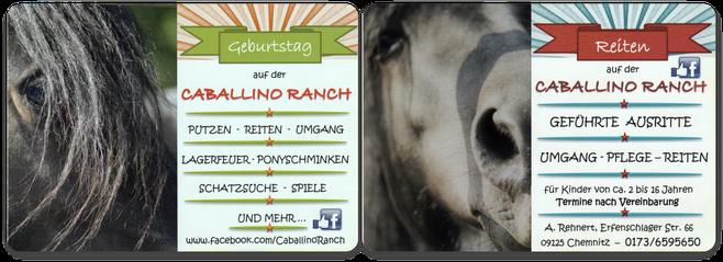 Caballino Ranch in Erfenschlag