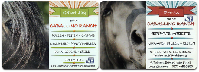 Caballino Ranch in Erfenschlag