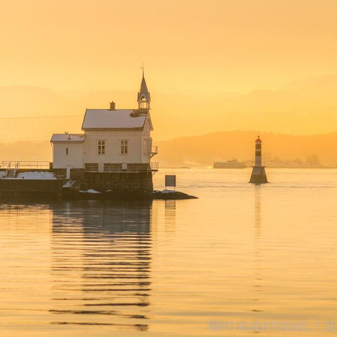 leuchtturm,oslo,oslofjord,fähre,golden,hour,schifffahrt,tipps