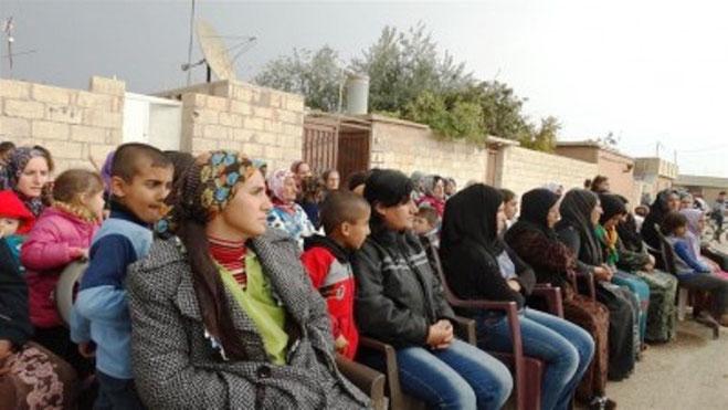 Møde blandt det assyriske etniske mindretal i Rojavas hovedstad Qamishli (1)