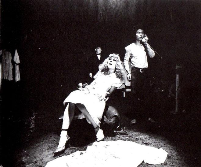 1971年 吸血鬼 四谷シモン:高石かつえ役 後方は根津甚八