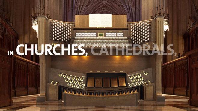 Monarke Kirchenorgeln