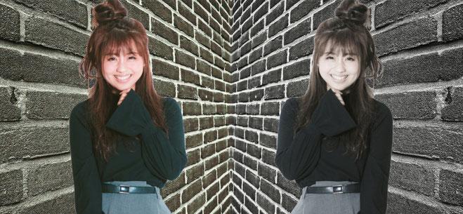 町田の壁抜け少女イメージ
