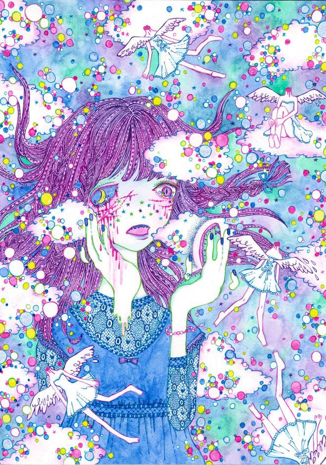 魚子「月になった少女。」