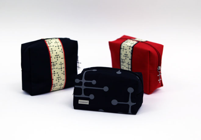 charles & ray eames dot vanity bag