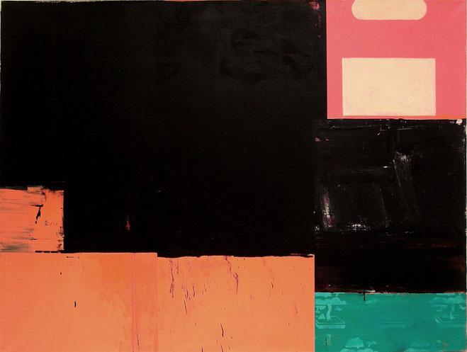 """""""Shinjuku Night"""", 2003, Öl auf Leinen, 120 x 140cm, Privatsammlung Hannover"""