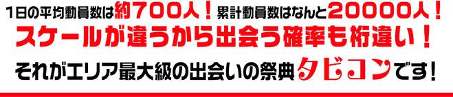 伊賀・名張・尾鷲・熊野で出会うならメガ合コン!タビコン