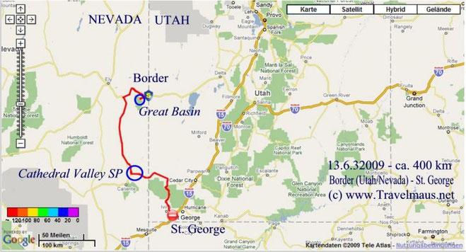 13.6.2009 Border - Saint George 400 km
