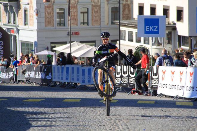 25.09.2016 Iron Bike Race Einsiedeln, Lenny Kamber