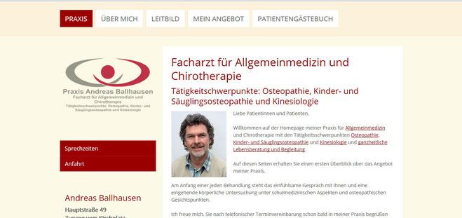 Andreas Ballhausen, Facharzt für Allgemeinmedizin