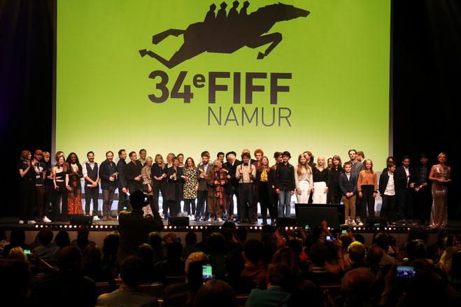 Cérémonie des Bayards du FIFF Namur 2019 © Fabrice Mertens