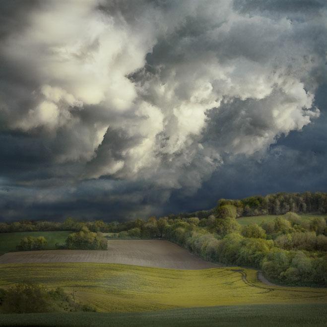 Bild: Normandie, 2013 - Ultrachrome K3 Pigmentdruck - Auflage 10 + 2 E.A. - 100 x 100 cm Marc Junghans Fotografie