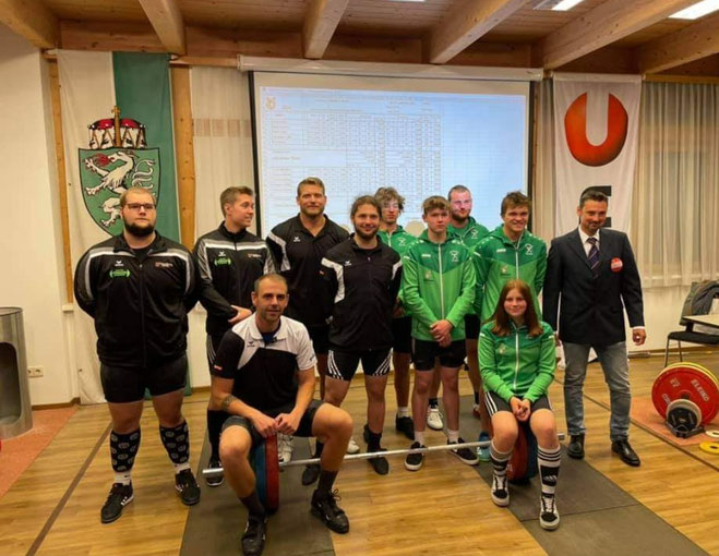 Mannschaftsphoto AK Union Öblarn & WKG AK Innsbruck/USC Dornbirn